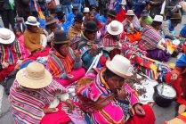 Mujeres quechuas. Bolivia. OI.