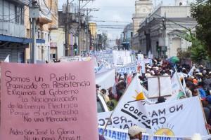 Protesta masiva. CODECA. Guatemala. 2016. OI