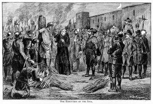 Captura y ejecución del Inca Atahualpa. Siglo XVI