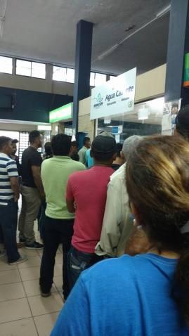 Ventanilla de migración hondureña y guatemalteca.  Frontera Aguas Calientes