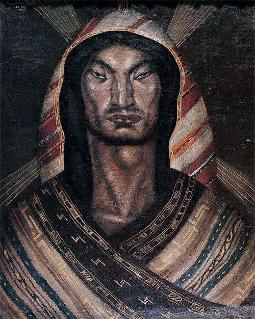 Cristo de Aymara. Cecilio Guzmán de Rojas